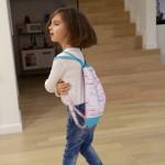 backpack Hopsa Hejsa růžový s modrým punťou