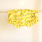 bombarďáčky Hopsa Hejsa žlutý proužek 12-18 měsíců