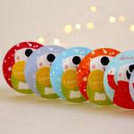 dárkové cedulky medvědí Vánoce