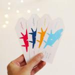 dárkové cedulky 7 šťastných pašíků obdélníkové