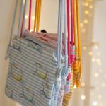 dětská kabelka Hopsa Hejsa modrá 14 x 14 cm