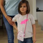 dětská kabelka Hopsa Hejsa růžová 16 x 17 cm