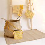 dětská kabelka Hopsa Hejsa žlutá 16 x 17 cm