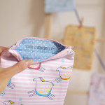 kapsička Hopsa Hejsa malá růžová 16 x 17 cm