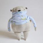 Pan Medvídek v modroproužcích