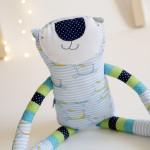 Paní  kočička modroproužkatá