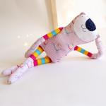 Paní  kočička růžoproužkatá