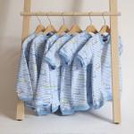 tričko Hopsa Hejsa modré dlouhý rukáv 2-3 roky