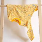 tričko Hopsa Hejsa žluté dlouhý rukáv 4-5 let
