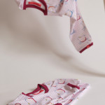 tričko Hopsa Hejsa růžové dlouhý rukáv 3-4 roky