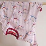 tričko Hopsa Hejsa růžové dlouhý rukáv 4-5 let