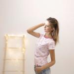 tričko Hopsa Hejsa růžové krátký rukáv S