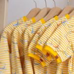 tričko Hopsa Hejsa žluté krátký rukáv 3-4 roky
