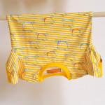 tričko Hopsa Hejsa žluté krátký rukáv 4-5 let