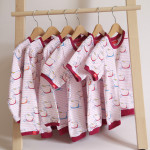 tričko Hopsa Hejsa růžové krátký rukáv 3-4 roky
