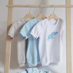 tričko světle modrý šťastný pašík na bílém krátký rukáv 4-5 let