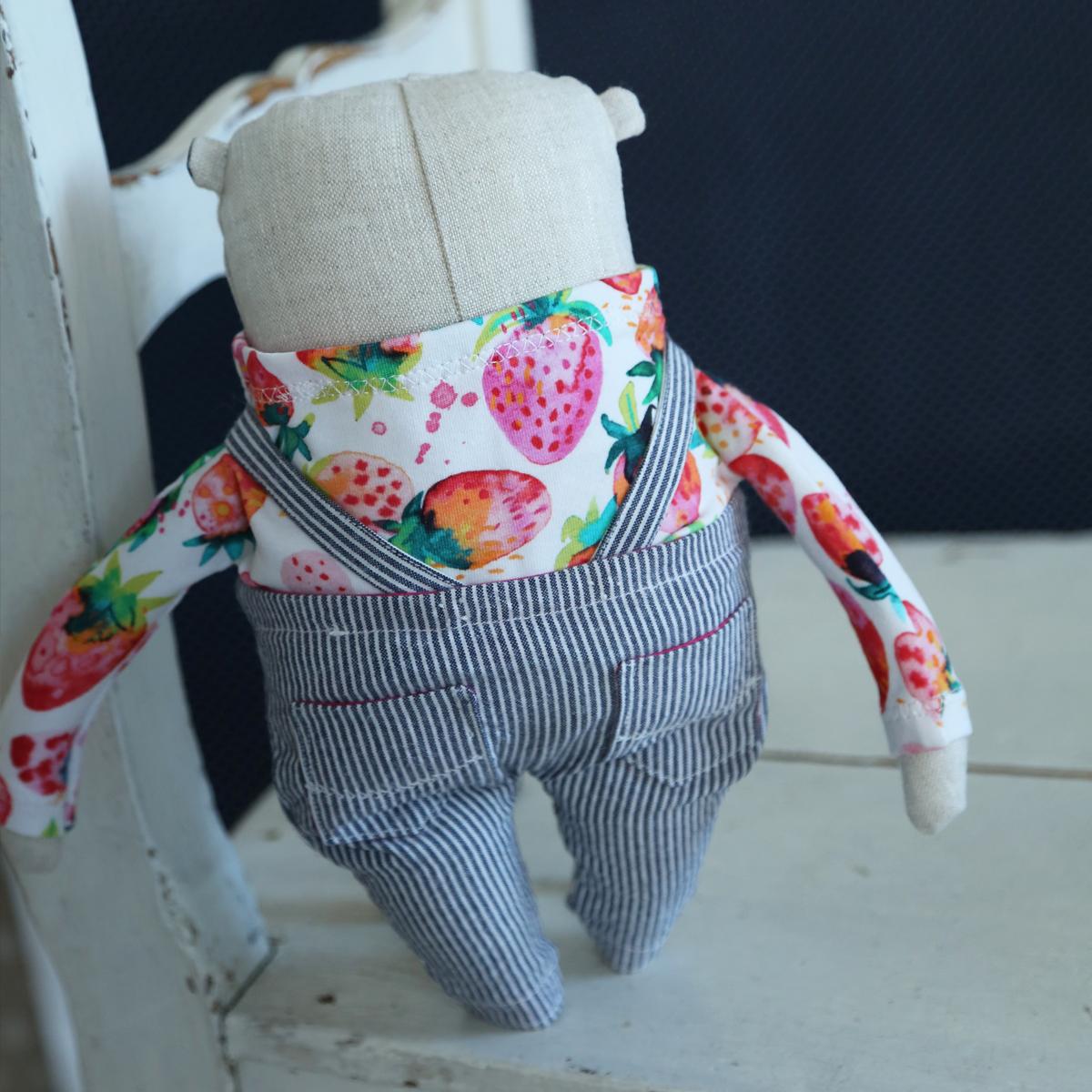 allydesign hračka mazlík medvěd jahůdka