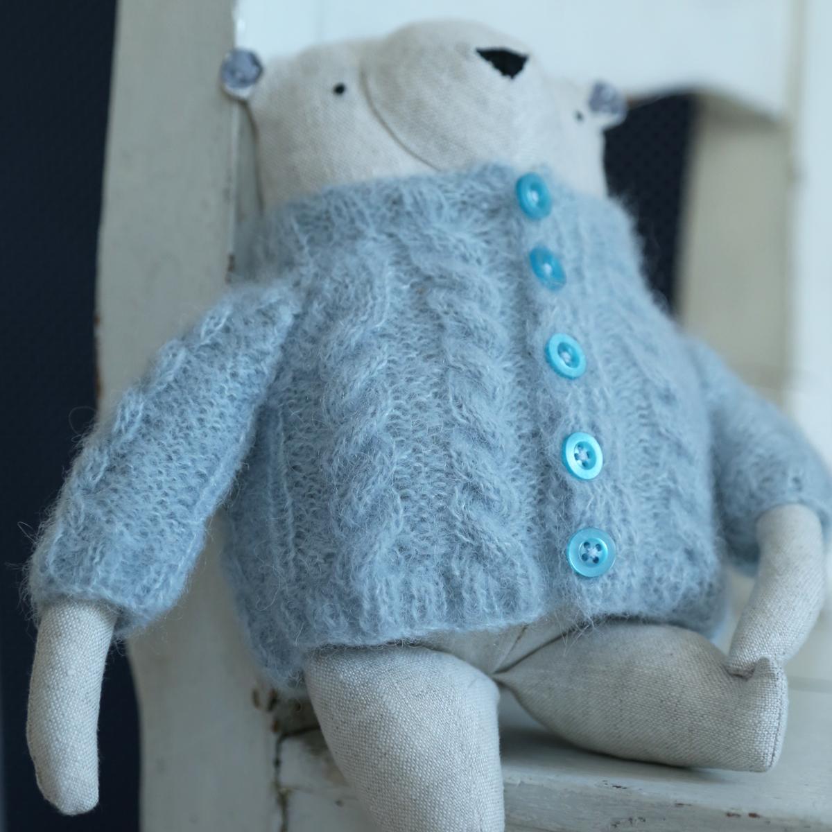 allydesign svetr hračka medvídek