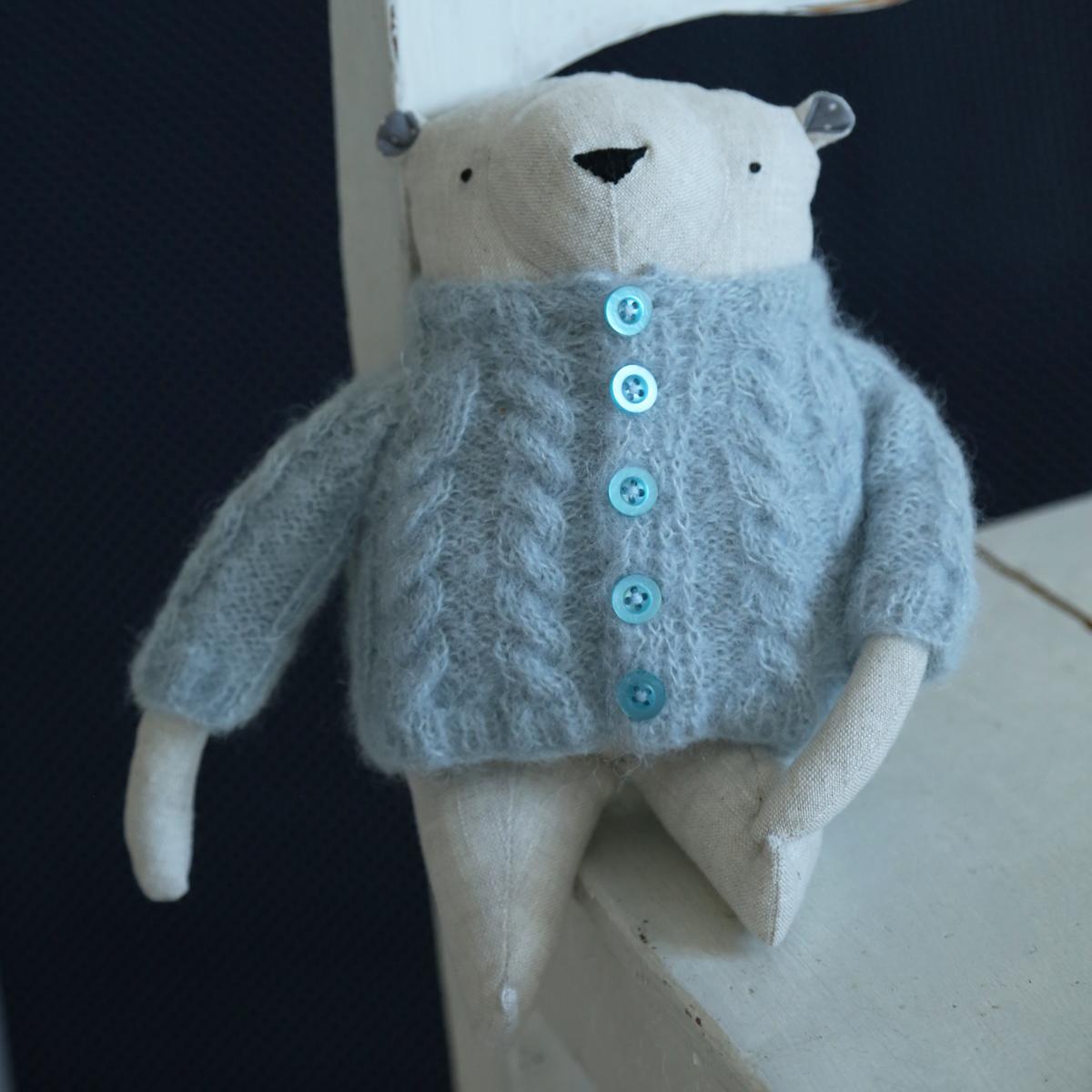allydesign svetr medvídek hračka